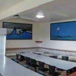 Lodge dining area