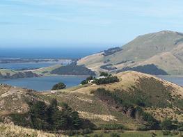 view on peninsula